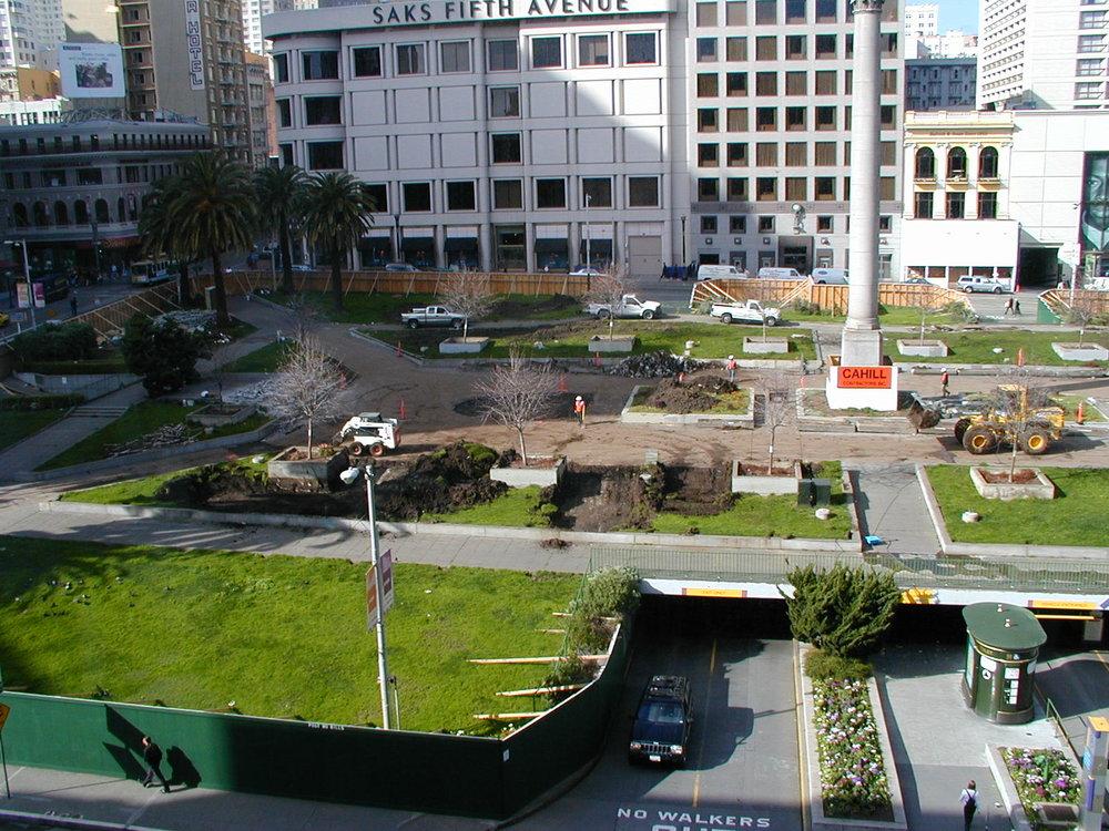 Union Square, downtown San Francisco