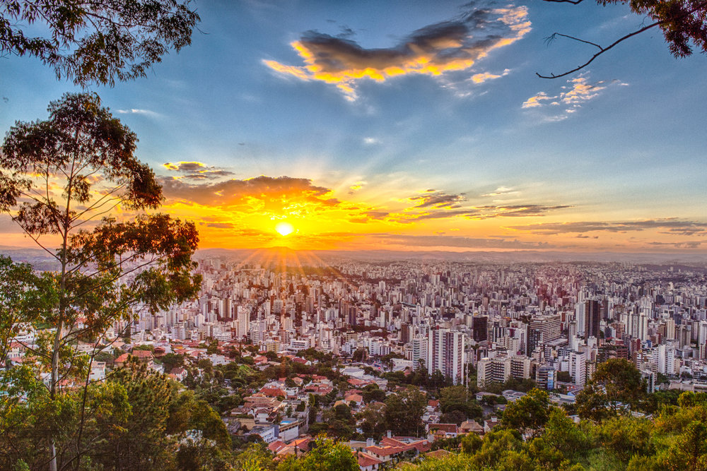 Belo Horizonte, Brazil Portugese name: Beautiful Horizon