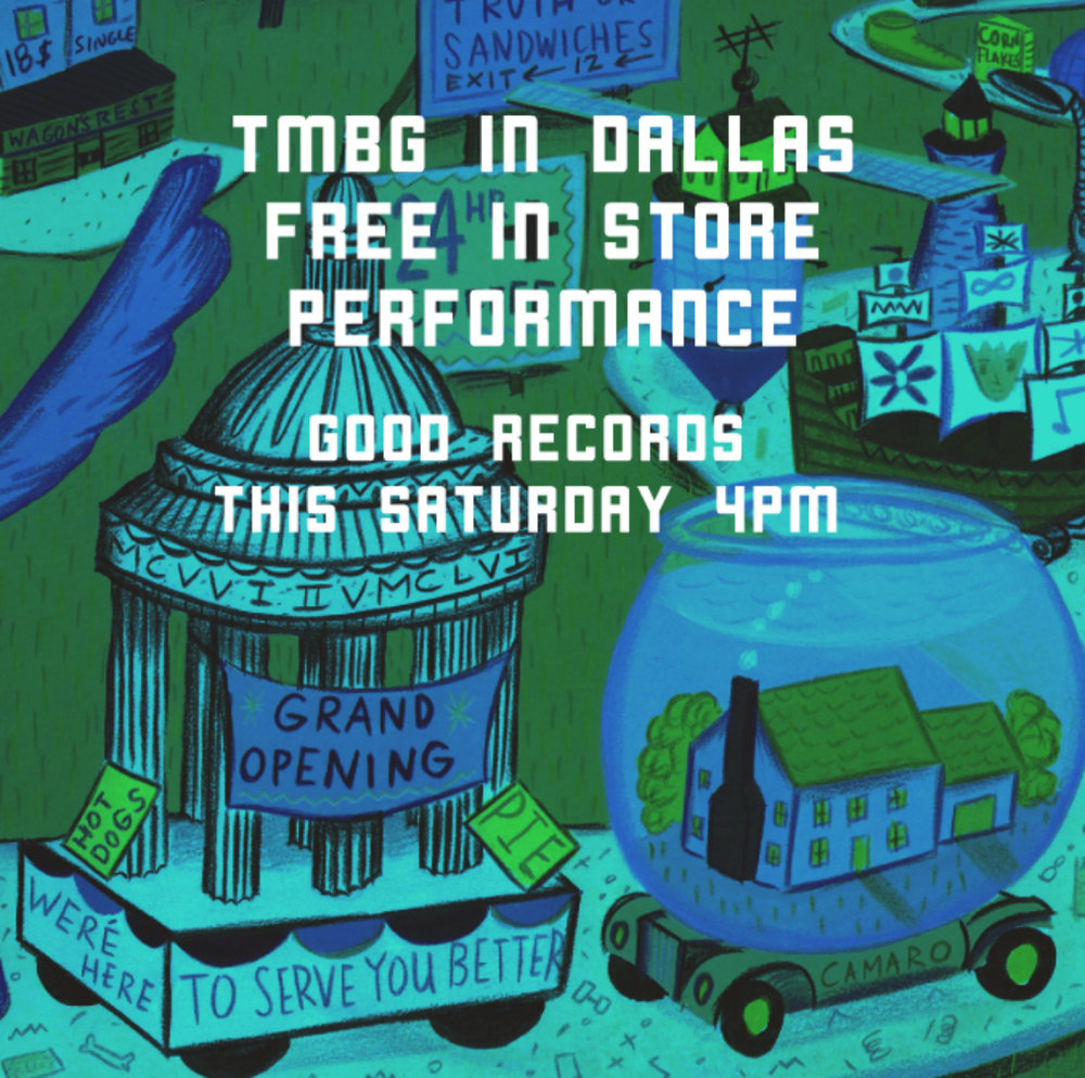"They Might Be Giants ""Live From The Astroturf"" This Saturday at Good Records!  https://fb.me/1RdvyL5Oc"