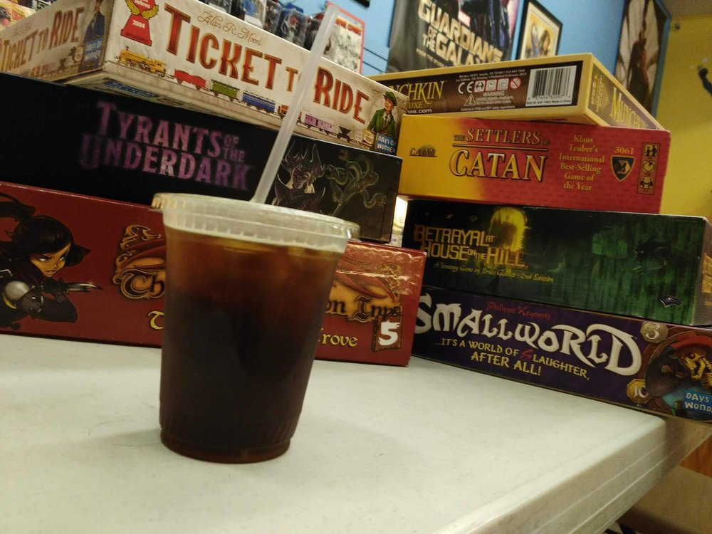 Check out our game nights in La Grange, and Downer's Grove