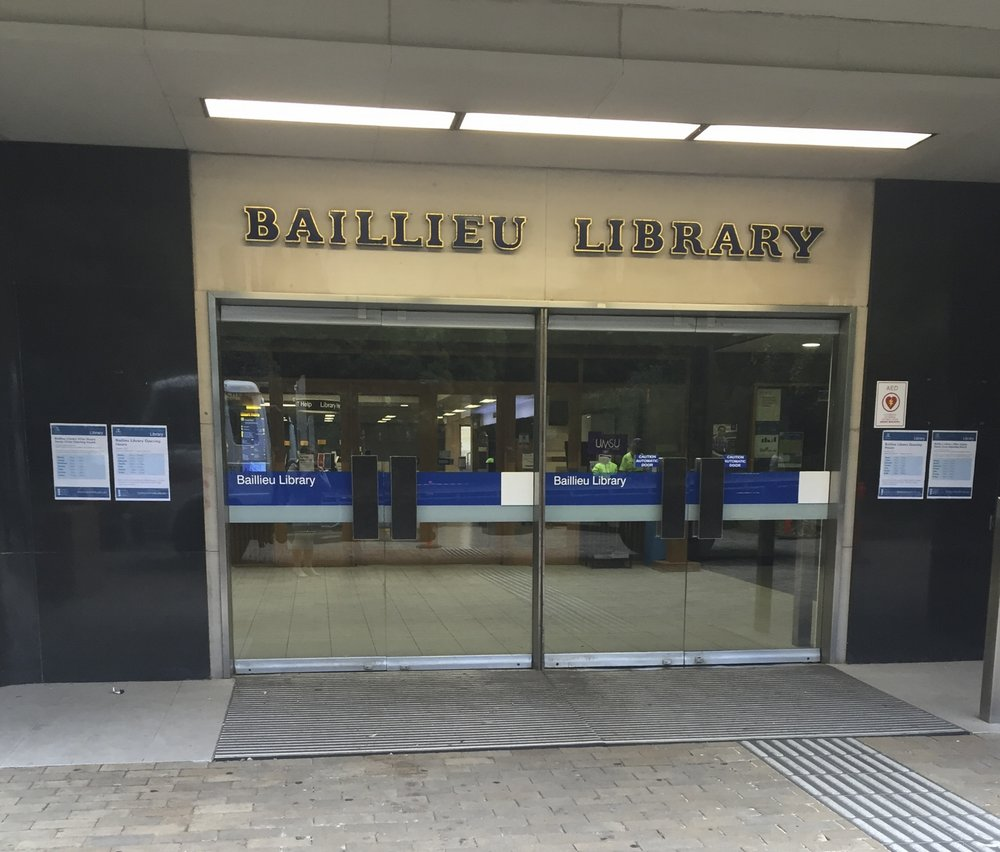 University of Melbourne's Baillieu Library
