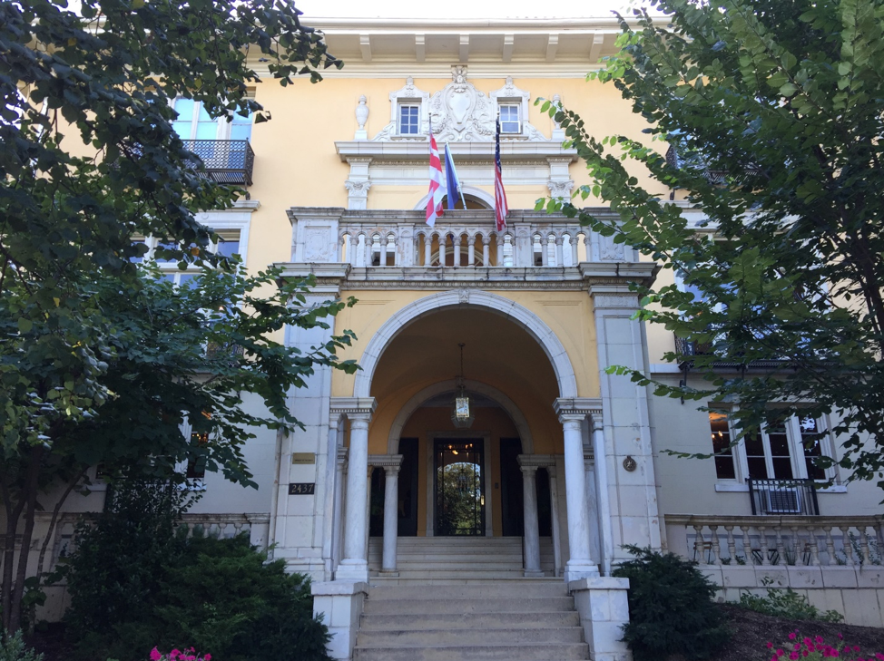 Josephine Butler Parks Center – historical mansion.      Photo by Anne Marie Lyons