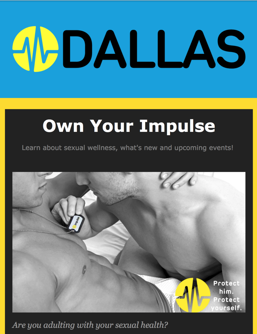 Check out the Impulse Dallas Newsletter.
