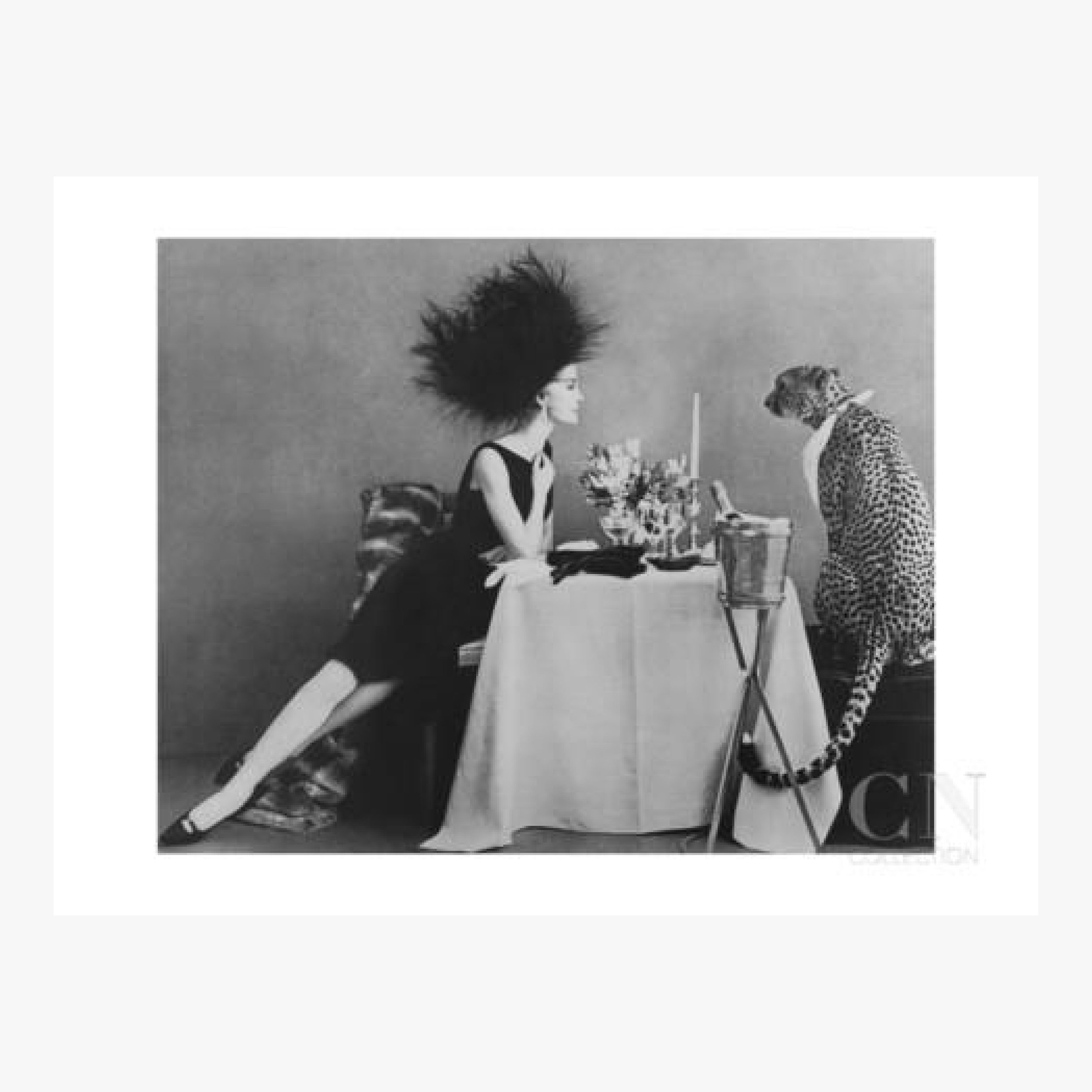 Http www condenaststore com sp vogue november 1960 dining with a cheetah prints i8486188 htm