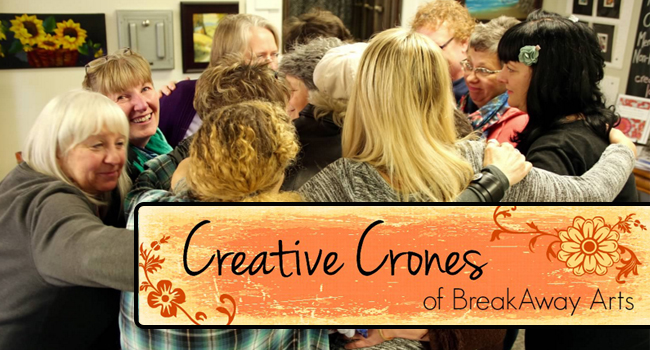 Click the photo to head over to our Creative Crones Meet-up site and join up!  This is the meet-up that includes the info for our famous DRUM CIRCLE.