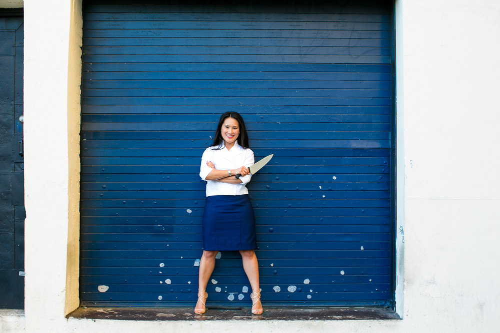 Los Angeles catering chef, Kim Vu, of Santa Monica