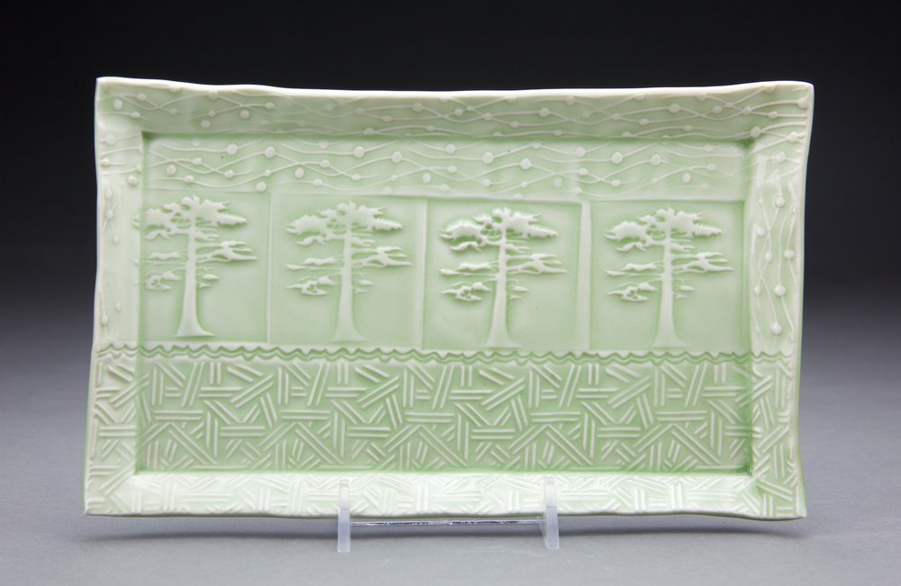 5x9 in. light sage celadon