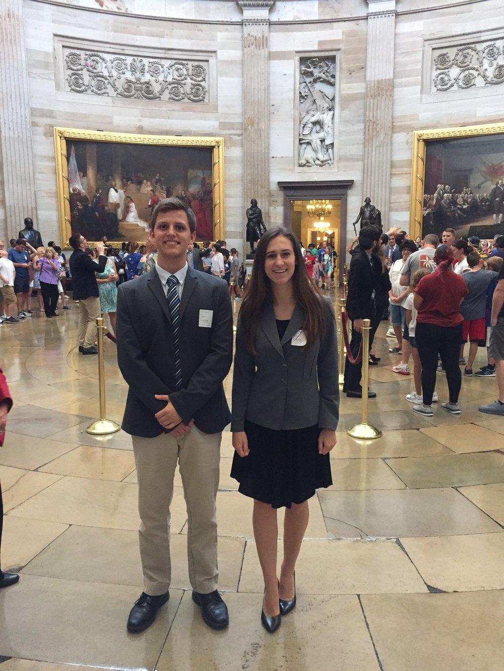 2017-18 Allison and Jonathan DC Capitol visit 2.JPG
