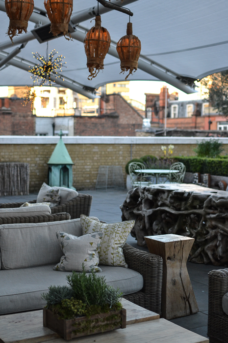ham yard hotel roof terrace