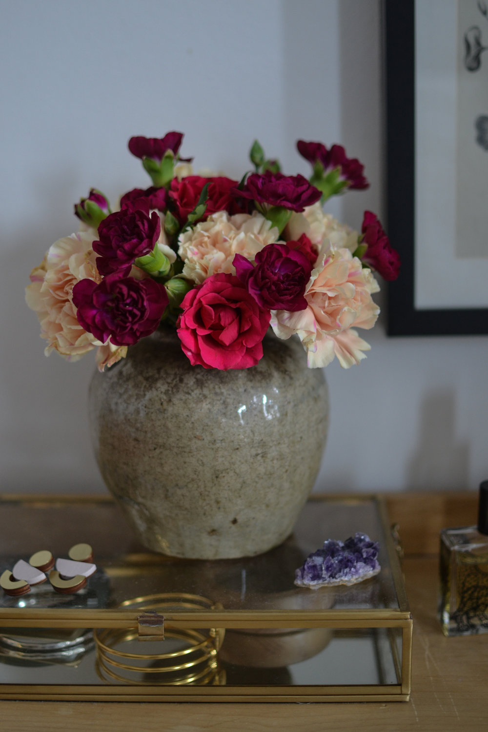 Three easy ways to transform supermarket flowers mary maddocks bunch of orange chrysanths anyone but with a little love and care and a few tricks a rather ordinary bunch of cheap flowers can look beautiful izmirmasajfo