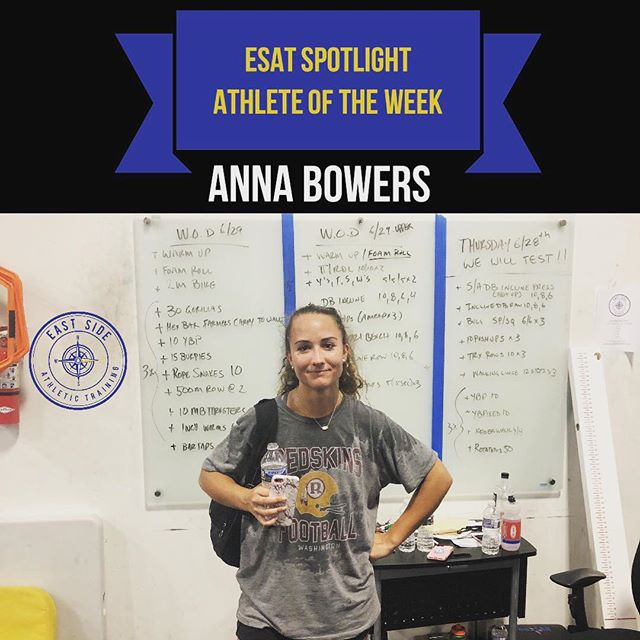 Committed To: Yale University  Sport(s) Played: Lacrosse  Anna has been working hard in here every day this summer getting ready for college lacrosse!  @abowers23  @yalewlacrosse  @theofficialyaleathletics  #trainwitheastside #makethingshappen #gobulldogs #yale #BoolaBoola #RollDawgs #lacrosse #lacrosselife #laxlife #laxislife #lacrosselife #lacrossefamily #lacrossetraining #lacrossedrills #sportstraining #sportsperformance #speedandagility #youthtraining #athleticdevelopment #injuryprevention #athletetraining #athlete #sports
