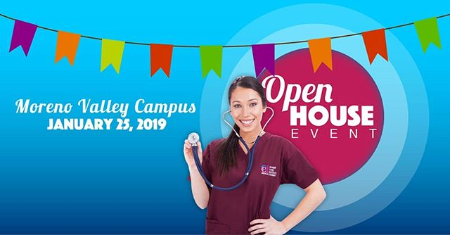 Career Care Institute invites you to join us TODAY for our Open House event, from 10am- 5pm at our MORENO VALLEY CAMPUS! . . During your visit to our campus, we'll take you on an informational tour of our well-equipped labs, classes, show you what campus life is all about and our latest curriculum! We look forward to seeing you on campus! . . Visit us at  https://www.ccicolleges.edu/open-house/ or call us at (951) 977-4255