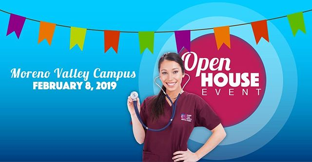 Career Care Institute invites you to join us at our next Open House event, February 8th from 10am- 5pm at our MORENO VALLEY CAMPUS! . . During your visit to our campus, we'll take you on an informational tour of our well-equipped labs, classes, show you what campus life is all about and our latest curriculum! We look forward to seeing you on campus! . . Visit us at  https://www.ccicolleges.edu/open-house/ or call us at (951) 977-4255