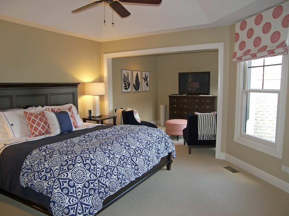 Wendy Nobriga ASID Park Ridge IL Master Bedroom
