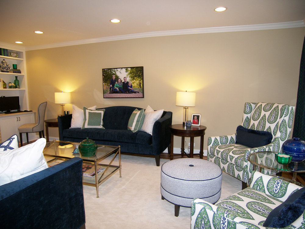Wendy Nobriga ASID Park Ridge IL Living Room