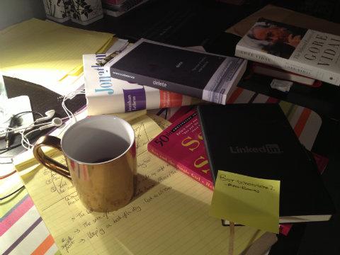 A plie of my 2013 books