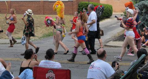 Writer's psychosis: Columbus Doo Dah Parade