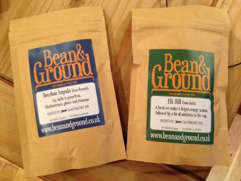 Bean and Ground coffee