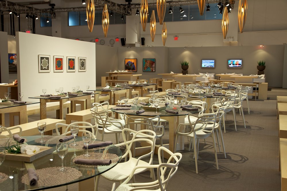 JP Morgan Hospitality Design at US Open