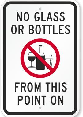 5.Pea meeles, et sa pead   klaastaara jätma koju! Kõik mis kaasas, võetakse ära ja visatakse prügikasti -
