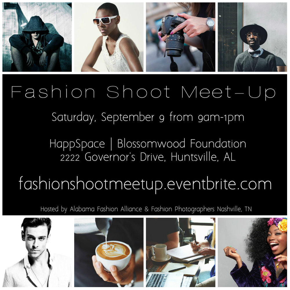 Fashion Shoot Meet-Up