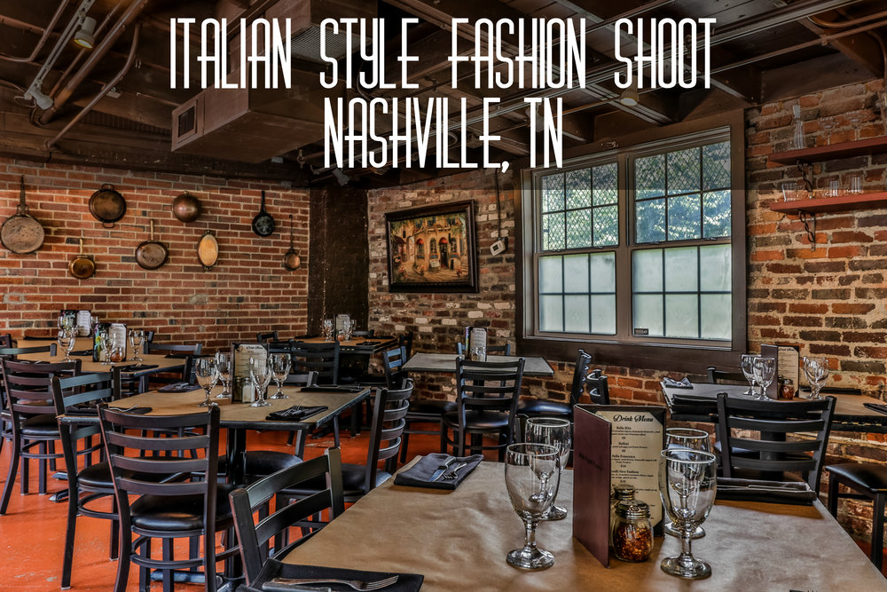 Italian Style Fashion Shoot Nashville, TN