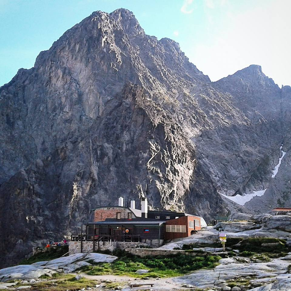Téryho Chata mountain hut.