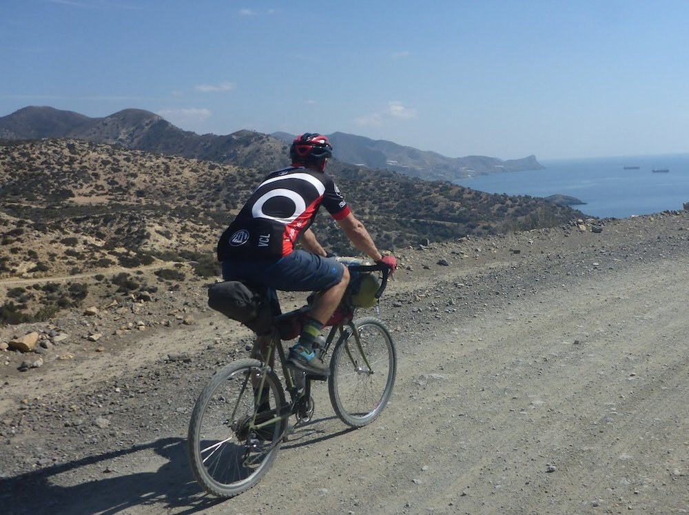 Hot roads around Lendas and the Asterousia Range
