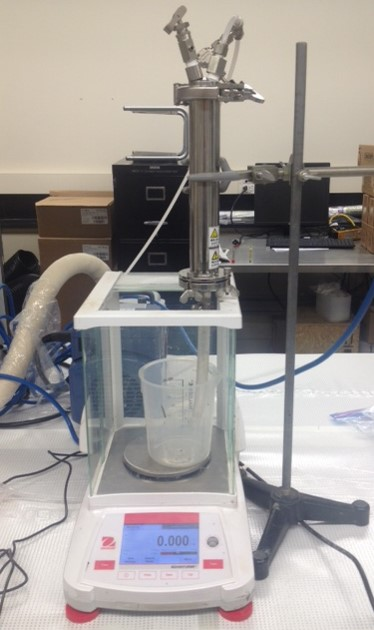 Measurement of specific resistance to filtration