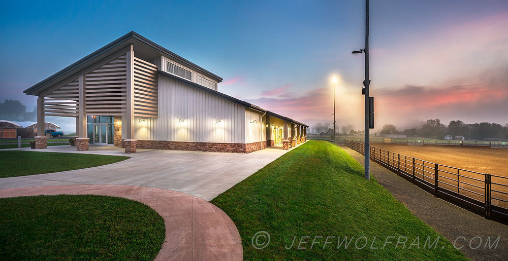 Architectural photography by Jeff Wolfram for Manheim Construction