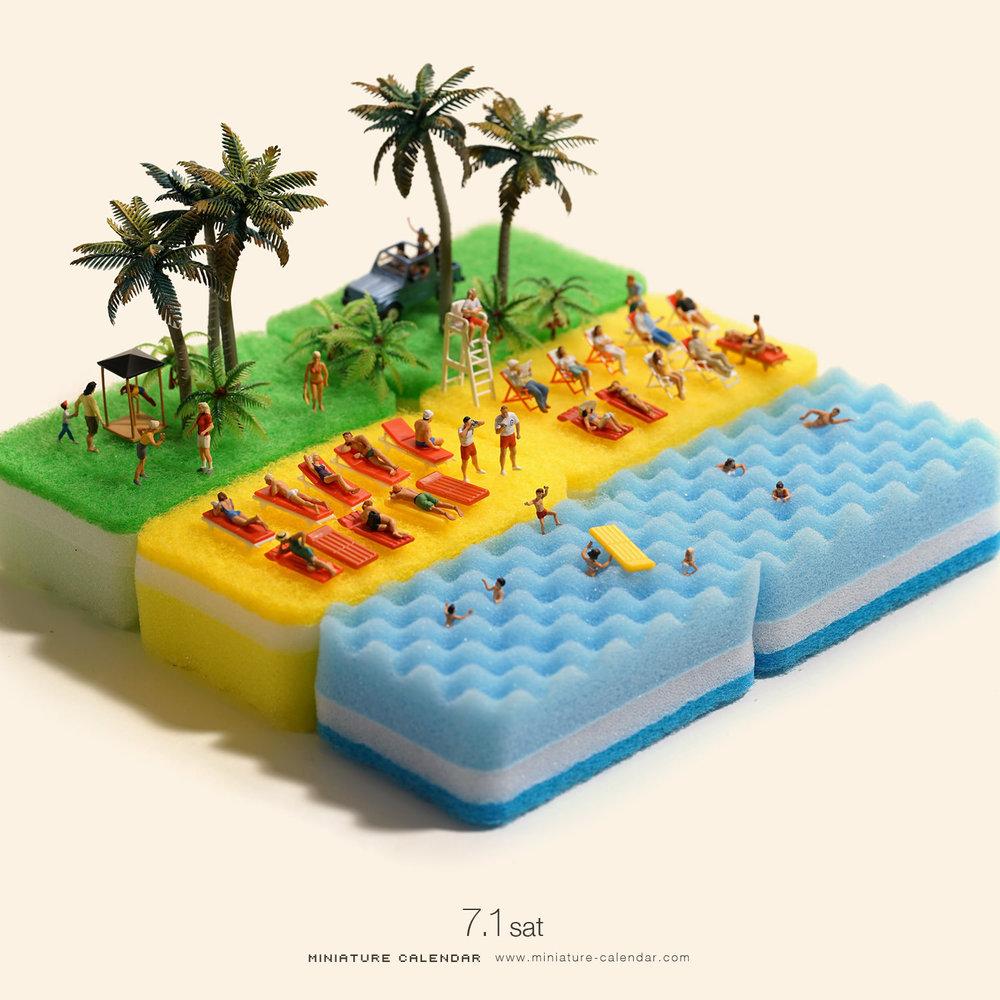 Source: Tatsuya Tanaka (MINIATURE CALENDAR) www.miniature-calendar.com