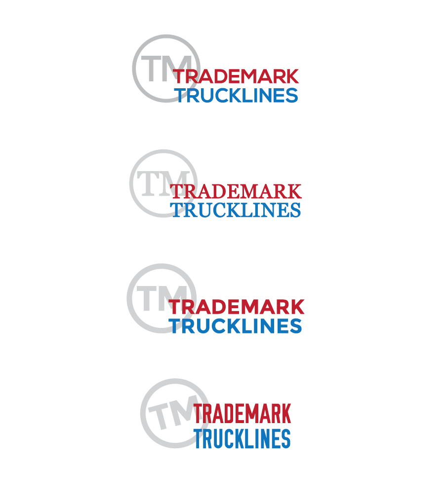 Variations on the logo before it was finalized.