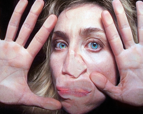 Pipilotti Rist, Open My Glade (Flatten), 2000 (still). Single-channel video installation, silent, color; 9 min. © Pipilotti Rist. Courtesy the artist, Hauser & Wirth, and Luhring Augustine