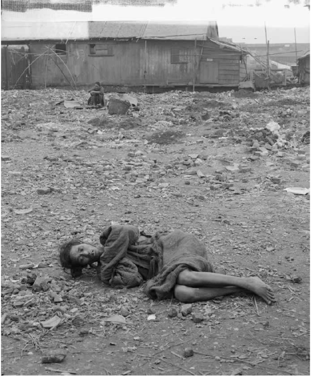 """Dying in the Dying Field where discouraged poor are allowed to come to die. Canton, China."""