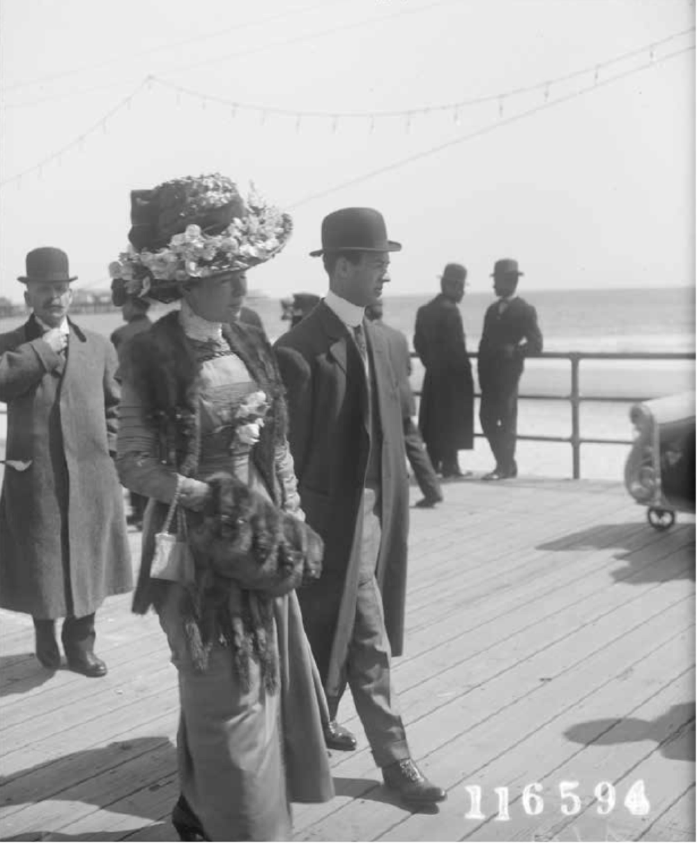 """An Easter hat. Atlantic City, New Jersey."""