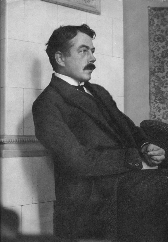 Walser in Berlin, 1907