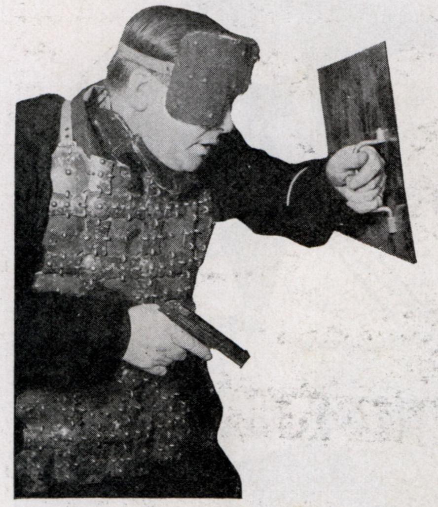 Paris Policeman, October 1938, Popular Mechanics.