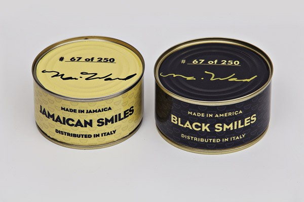 Nari Ward, Canned Smiles, 2013 , image courtesy of Lehmann Maupin