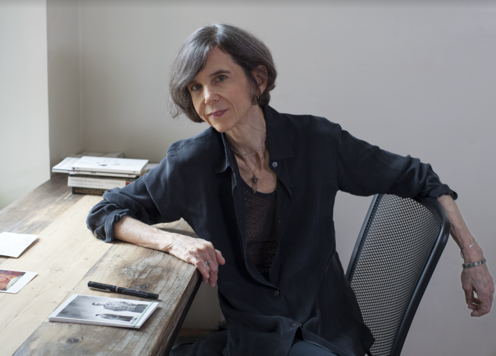 Photograph of Laurie Sheck by Nina Subin