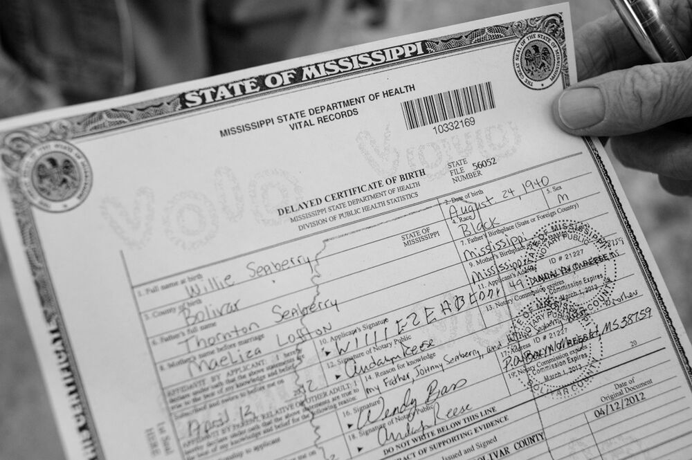 Willie's Birth Certificate, Photograph by Will Jacks
