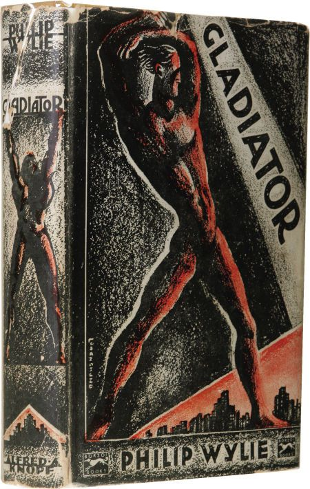 The first edition of  Gladiator,  published by Alfred A. Knopf in 1930