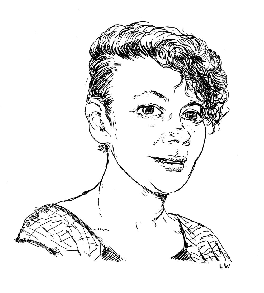 Nicole Rudick by  Lauren Weinstein