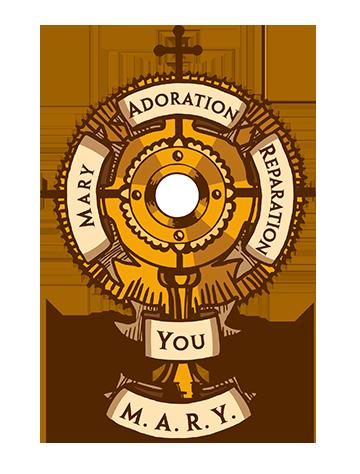 Carmelite Auxiliary Monstrance Logo