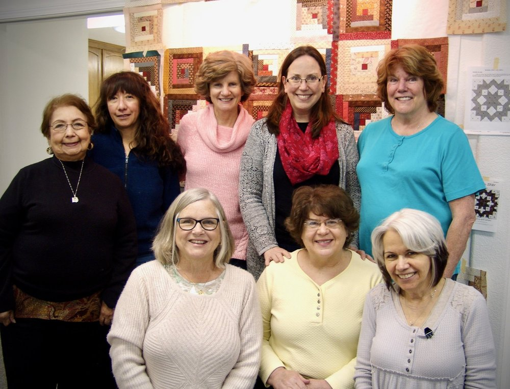 Members of the Carmelite Auxiliary Sewing Group