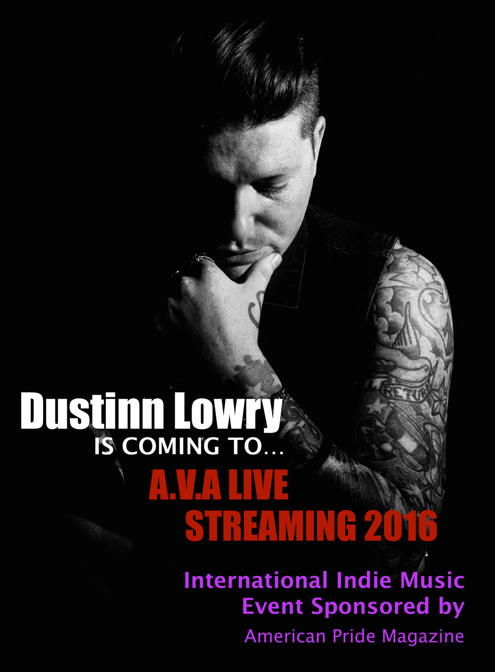 Dustinn Lowry AVA Live Radio Streaming 2016.jpg