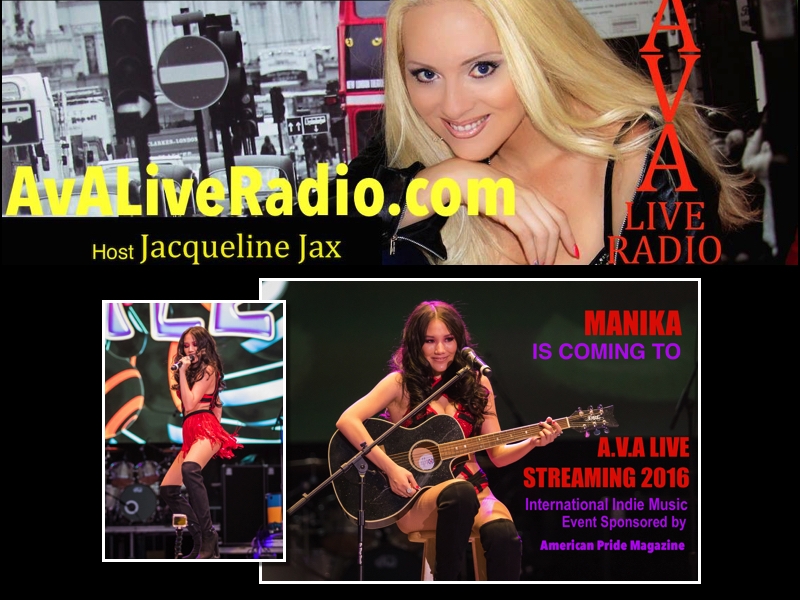 Manika AVA Live Radio Streaming 2016.jpg