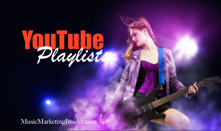 Why are Playlists are important on youtube:     Youtube is focusing on how long people stay on your content so developing playlists is so important to keep people focused on your content for longer periods of time. Playlist viewers are more likely to share their playlists and are typically prepared to run a playlist all the way through which can get your music in front of a music fan more effectively.    - Tailoring your playlist around what's most current or a micro-niche are two very effective strategies to make an impact    - Use your playlists to draw attention to your music by association and creating playlists of value to a specific audience.