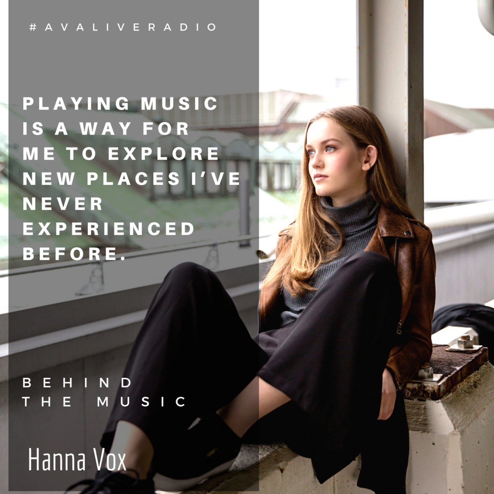 Hanna Vox music quote avaliveradio.png