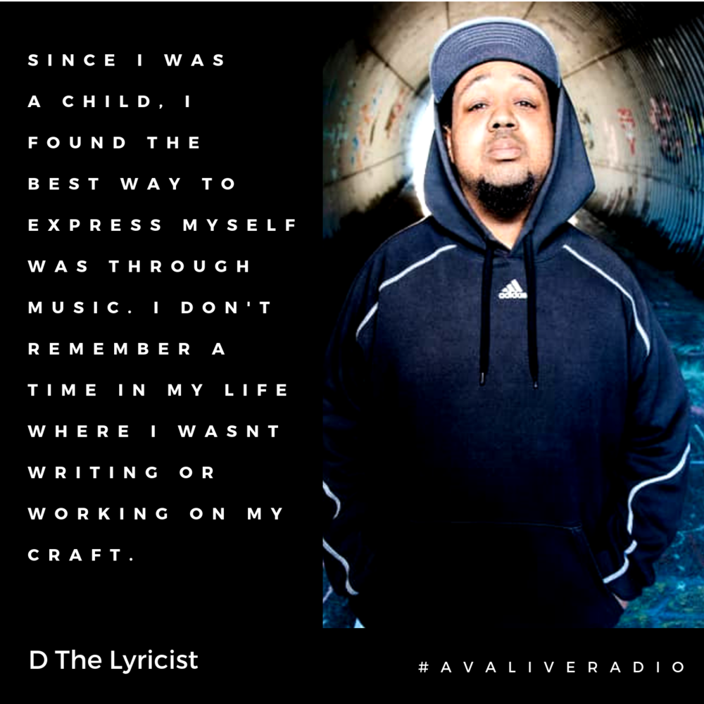 D The Lyricist avaliveradio music quote.png