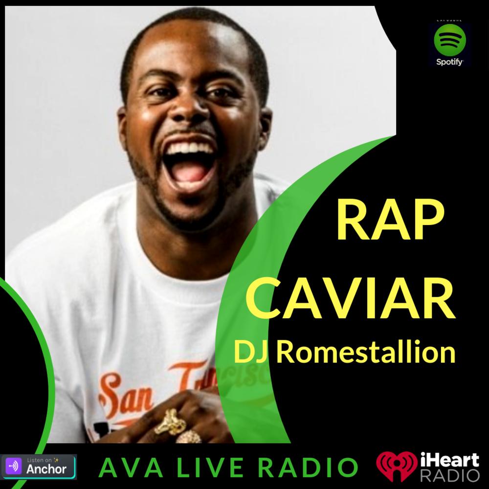 DJ Romestallion AVA LIVE RADIO NEW MUSIC MONDAY(1).png